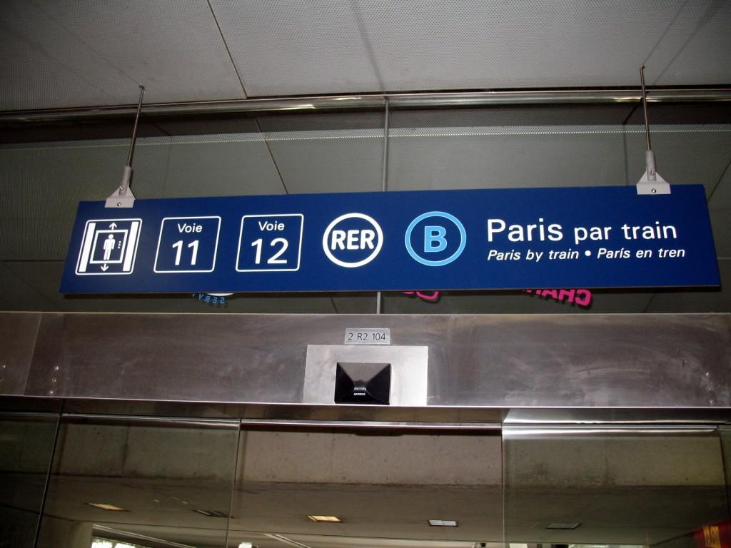 Из аэропорта на RER photo @MPD01605