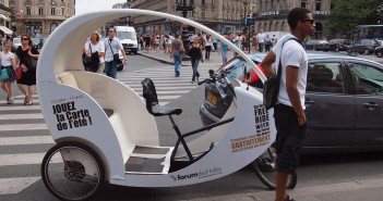 Велотакси в Париже photo @zoetnet