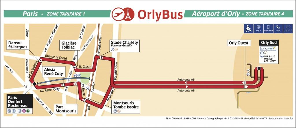 Plan Orlybus