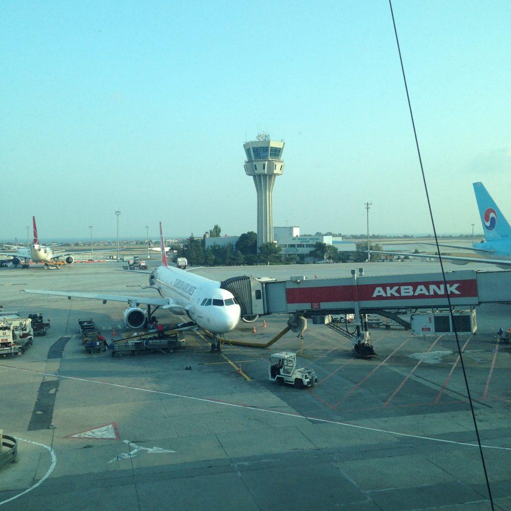 Вылет из Стамбула