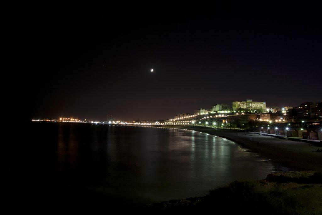 Вид на город с мыса Элс Коссис (Els Cossis)