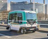 Первые беспилотные автобусы в Париже