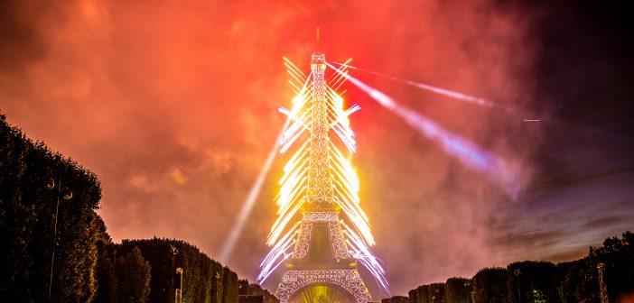 Передвижение в Париже на День взятия Бастилии 2018