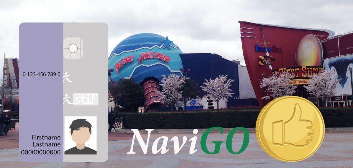 Проездной Navigo, экономим на проезде